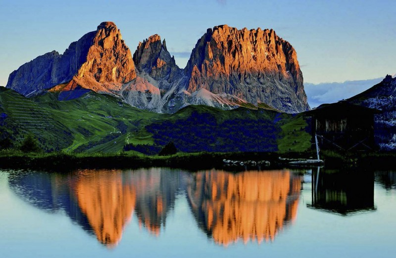 Почем Альпы летом?
