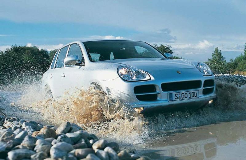Золотые мили. Первое поколение Porsche Cayenne