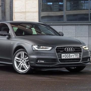 Audi A4: уже встречались?