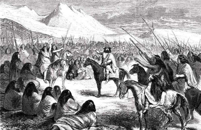 Антуан де Тунан, друг индейцев