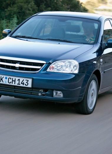 Chevrolet Lacetti: фартовый малый