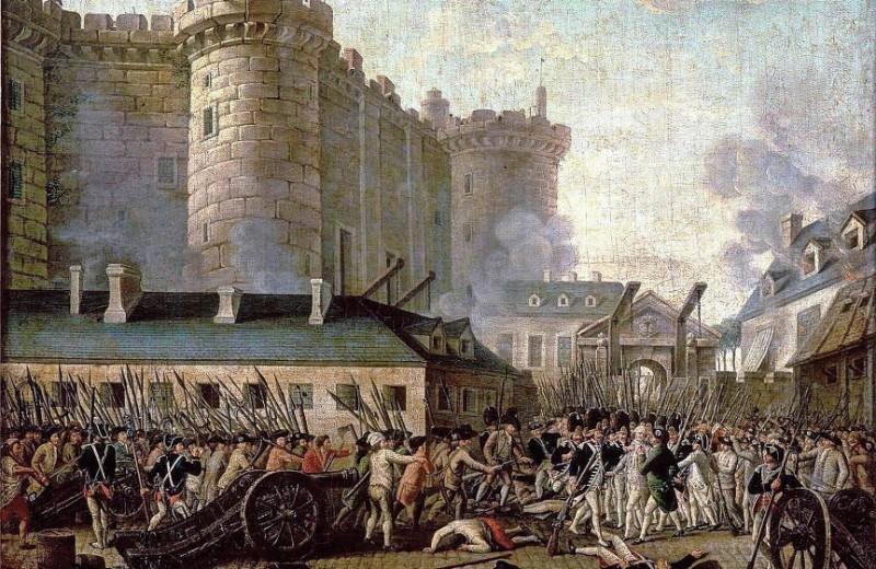 230 лет назад… Взяли Бастилию