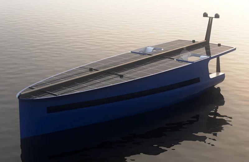 Яхта P1 – только солнце и ветер