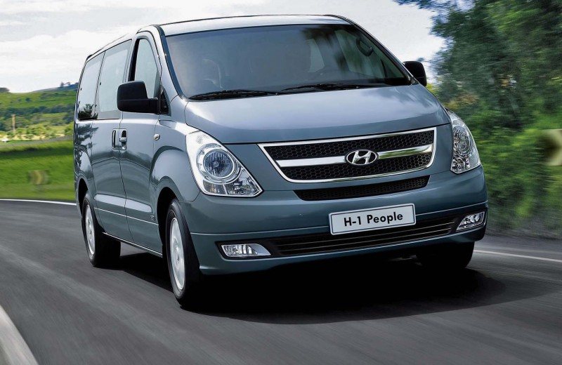 Hyundai H-1: передаем за проезд