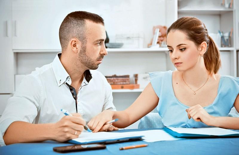 После развода:делим долги