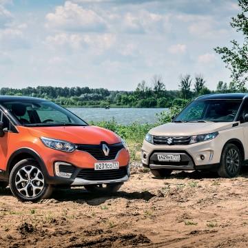 Renault Kaptur, Suzuki Vitara