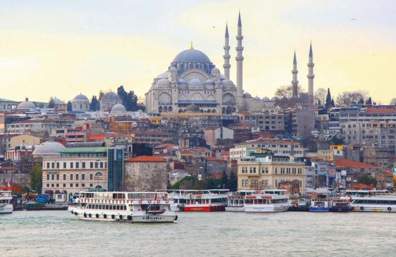Стамбул: Европа и Азия