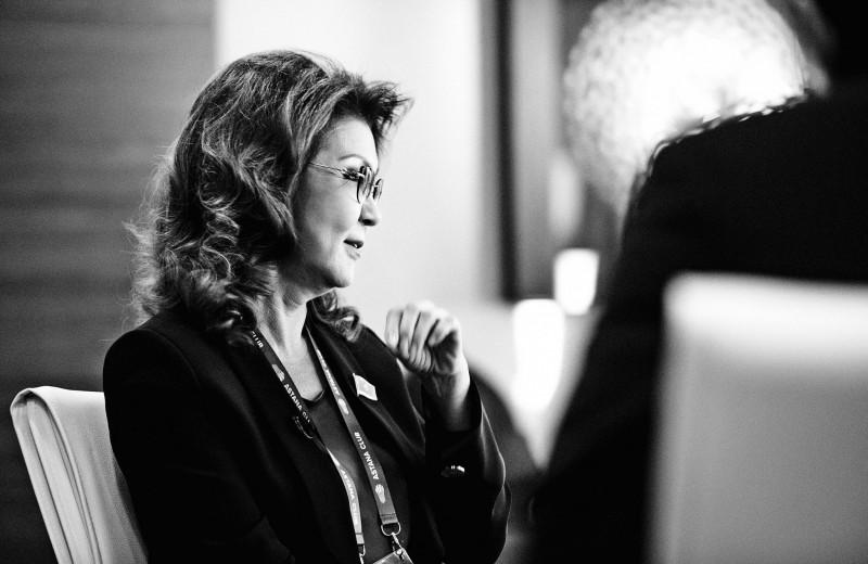 Дарига Назарбаева: «Ежегодно в Китае рождается по одному Казахстану»