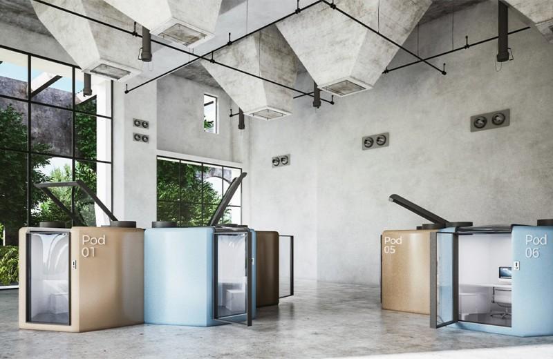 Qworkntine – модульный офис для работы в карантин и после
