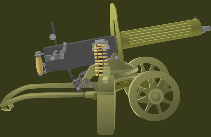 Битва при Омдурмане: песня 44 пулемётов
