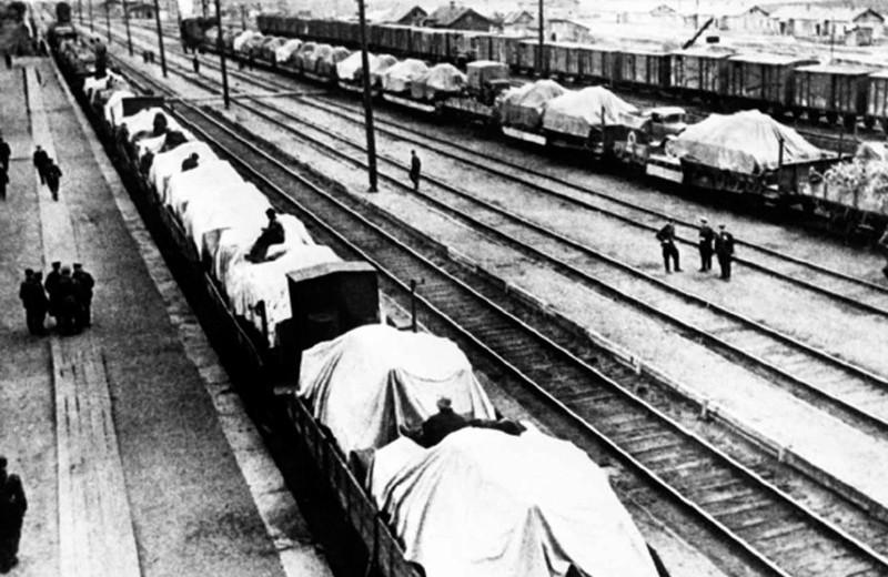 Железные дороги победы