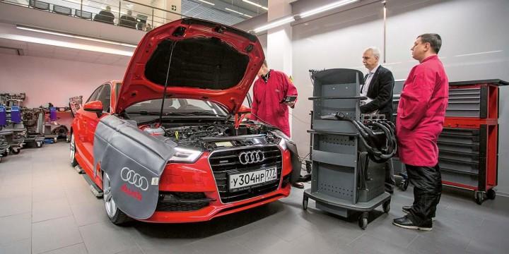 Академия Audi: тяжело в учении