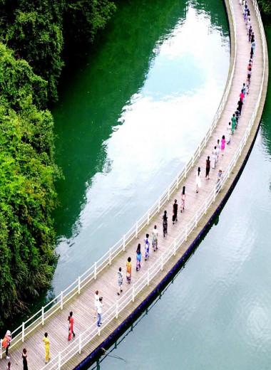 Река Кинг, Китай