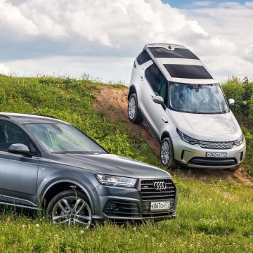 Audi Q7 – Land Rover Discovery