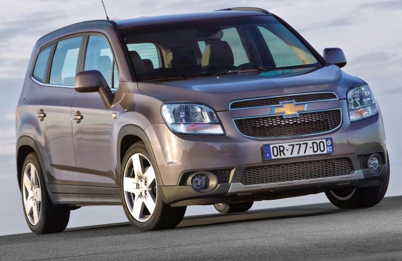 Chevrolet Orlando: семейные проблемы