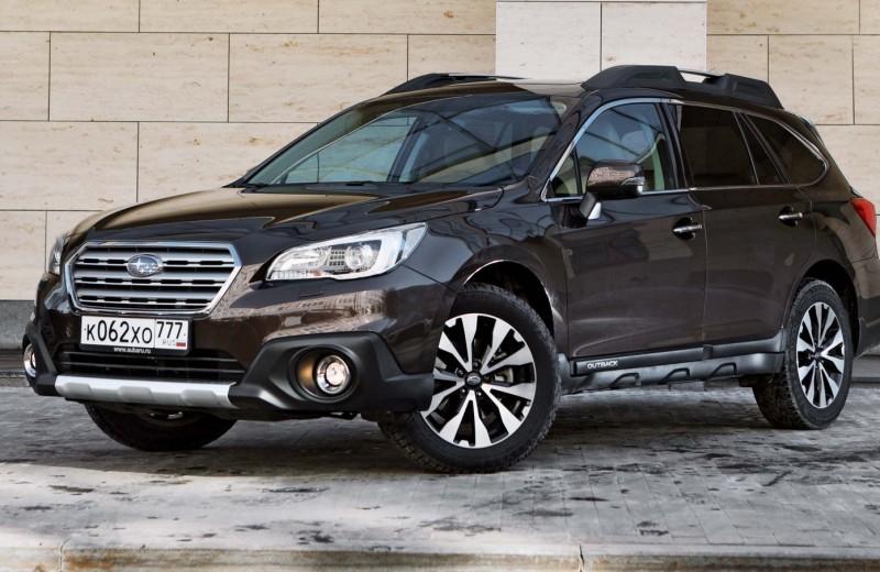 Subaru Outback: удобно жить