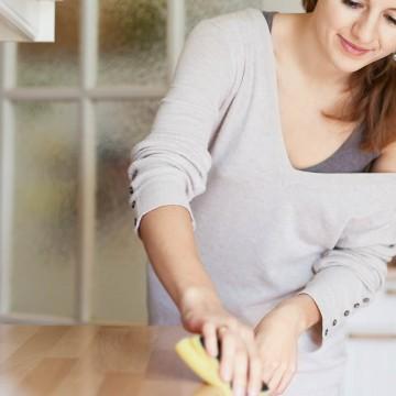 Чистая кухня всего за 20 минут