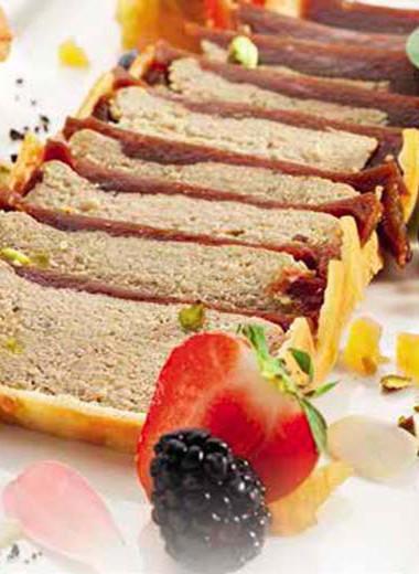 Жирный страсбургский пирог…