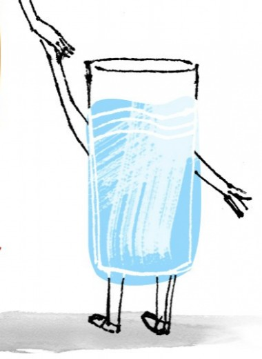 Подадут ли нам дети стакан воды?