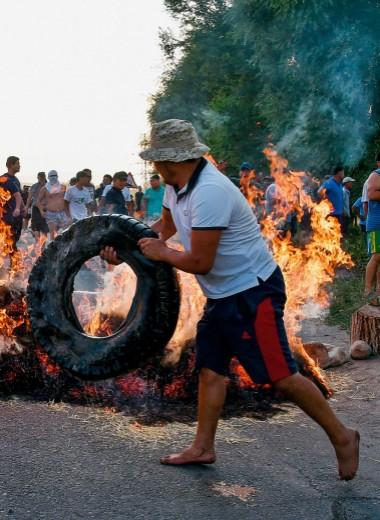 Фото недели: В Бишкеке жарко