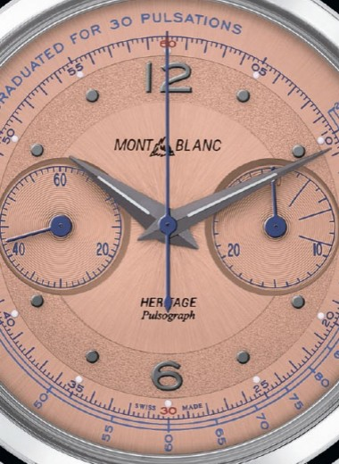 Часы: Montblanс Heritage Pulsograph