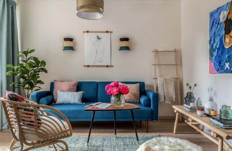 Квартира с летним настроением, 39 м²