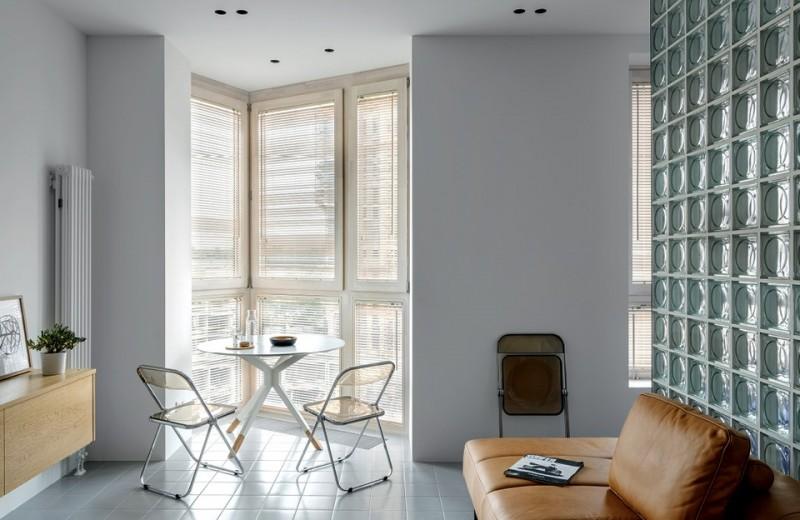Квартира с необычной геометрией, 43 м²