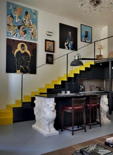 Квартира с функцией галереи, 50 м²