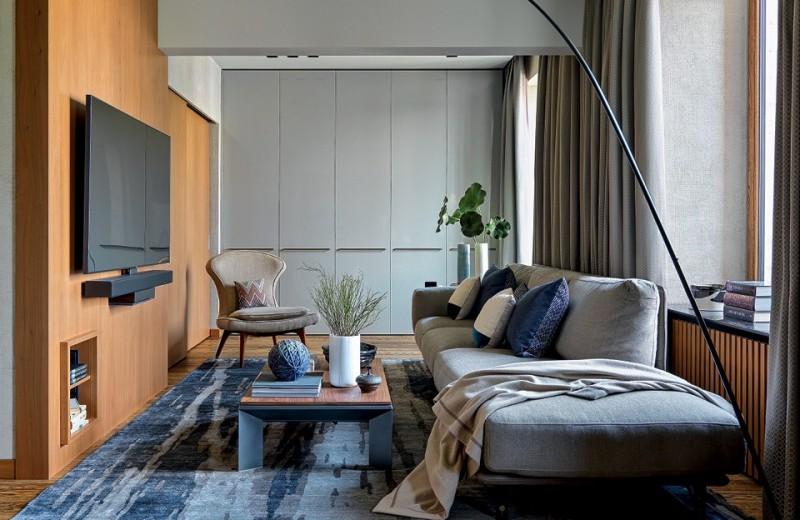 Квартира со скрытыми объемами, 54 м²