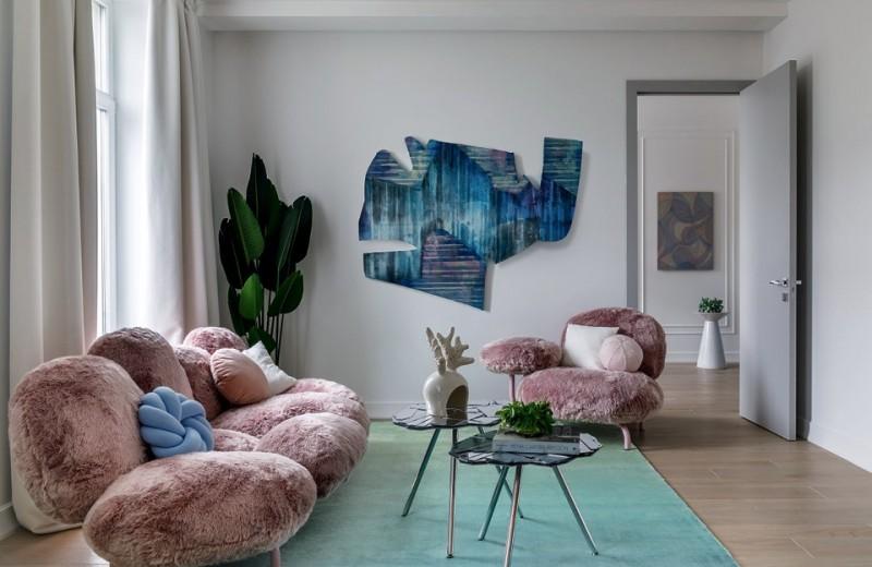 Квартира с единорогом, 55 м²