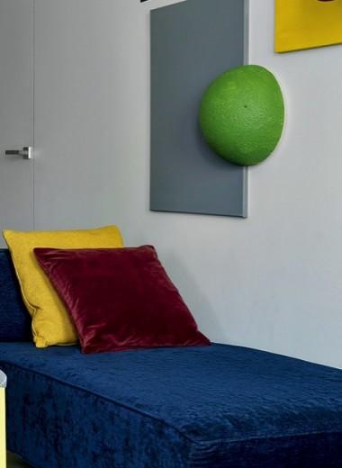 Квартира в духе супрематизма, 55 м²