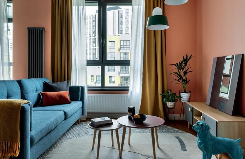 Квартира в красках юга, 65 м²