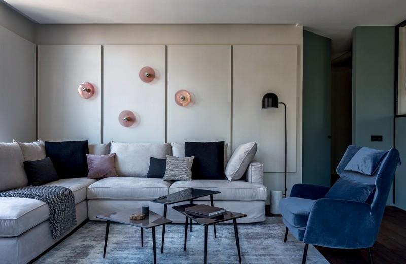 Квартира, вдохновленная прибалтийской природой, 79м²