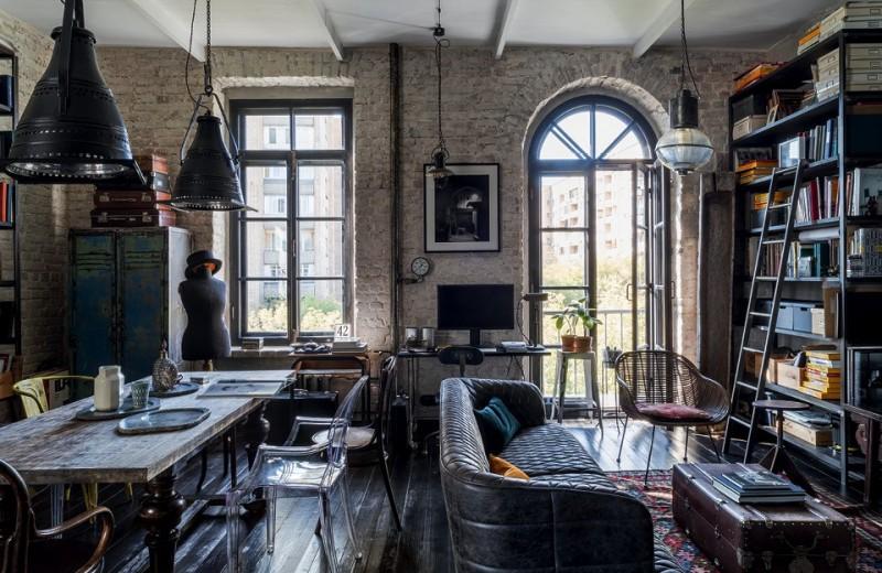 Квартира фотографа, 82м²