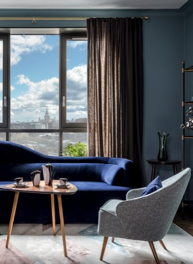 Квартира с антикварной мебелью, 92 м²