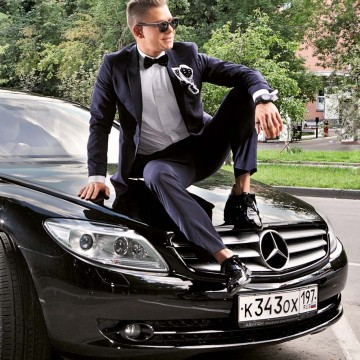 Mercedes-Benz СL 500 стал настоящим другом для Мити Фомина
