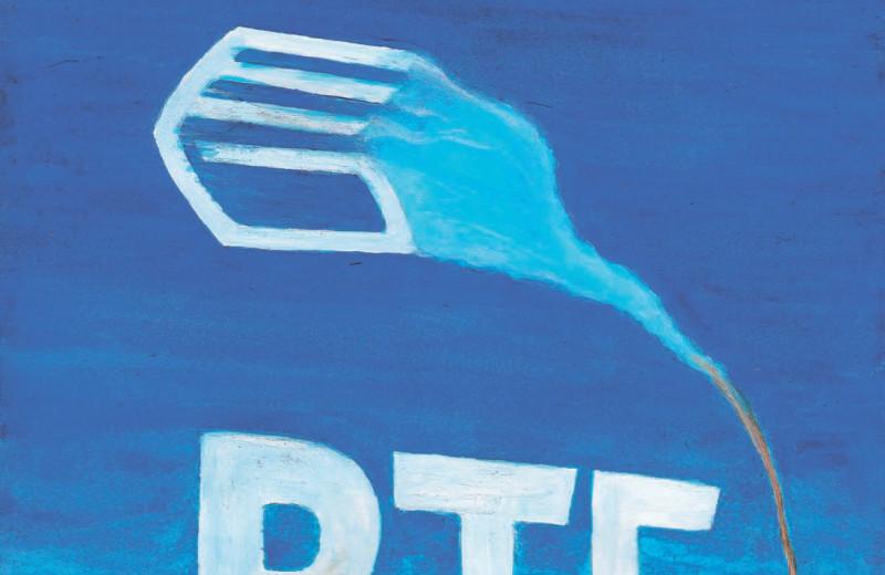 Рост ВТБ: синий догоняет зеленого