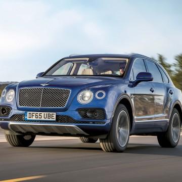 Bentley Bentayga: Воздух ручной работы