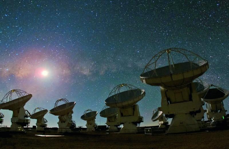 В астрономическом раю