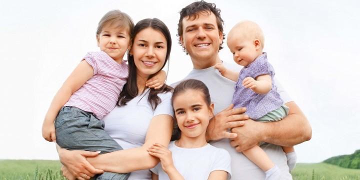 Большая семья: места хватит всем!