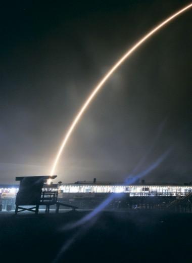 Гигабайты прилетят с орбиты