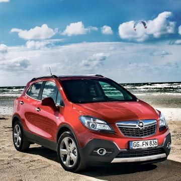Opel Mokka. Выпускался с 2012 года
