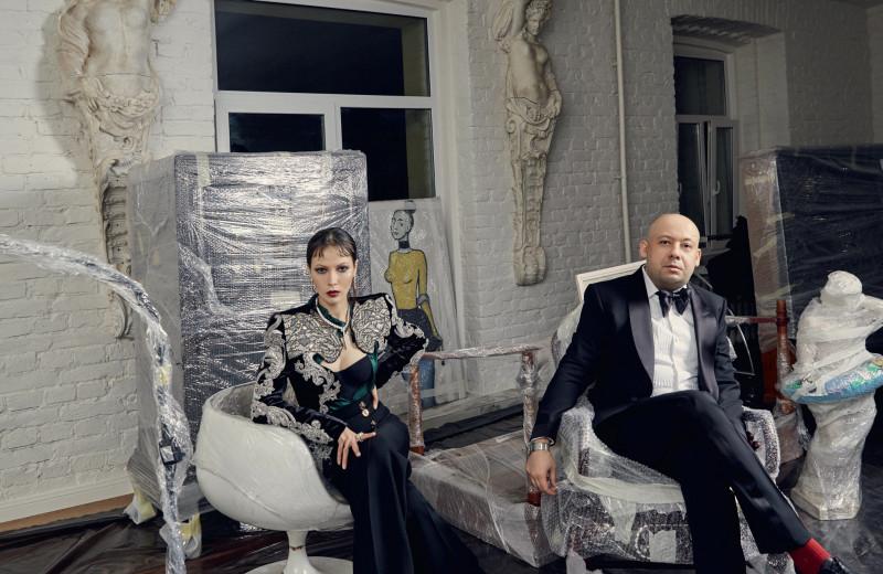 Алексей Герман и Елена Окопная