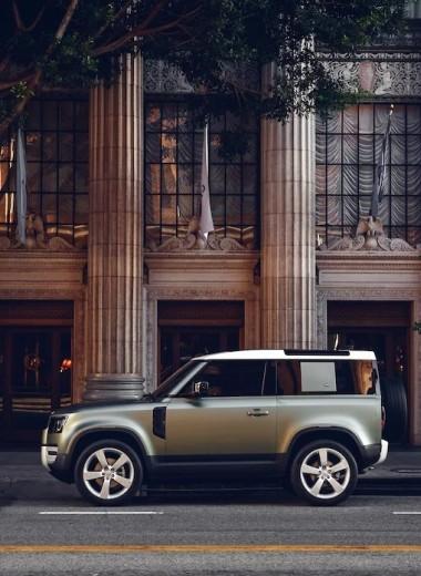 Land Rover Defender и Audi E-tron