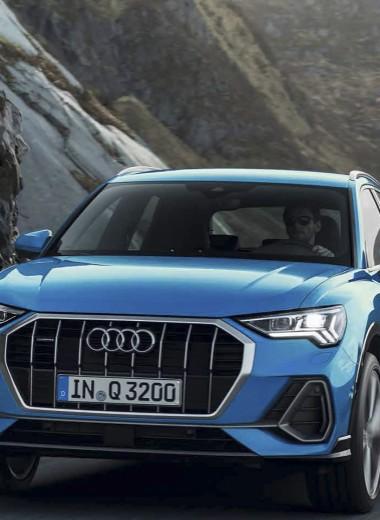 Новый Audi Q3. Как VW Tiguan, только лучше