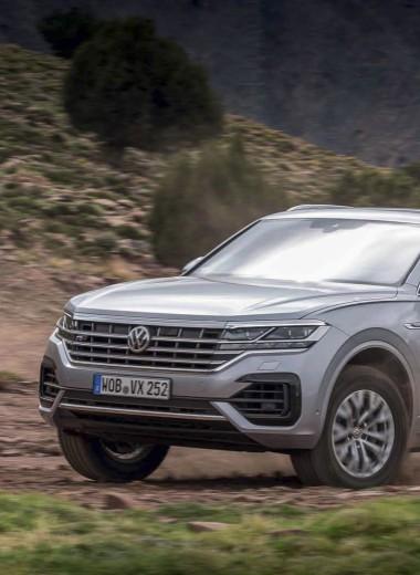 Новый Volkswagen Touareg. Немного суррогатный, но крайне успешный