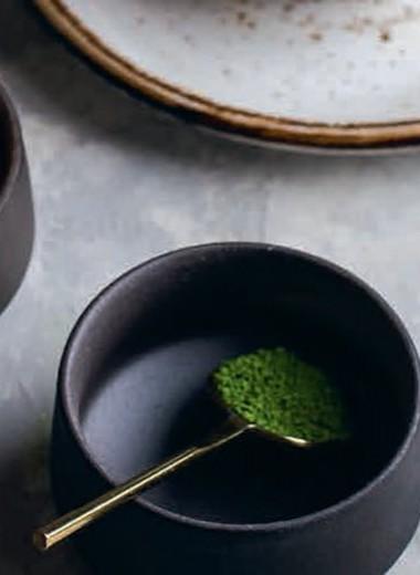 Еда и мир:чай матча