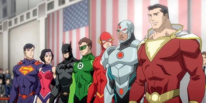 Герои малого экрана.Мультфильмы по DC Comics