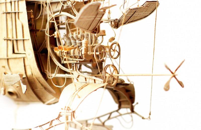 Картонная инженерия Даниеля Агдага