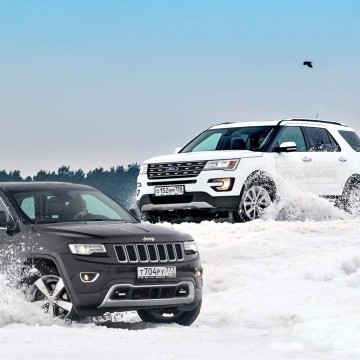 Ford Explorer и Jeep Grand Cherokee